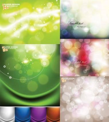 free vector Dream of light vector background