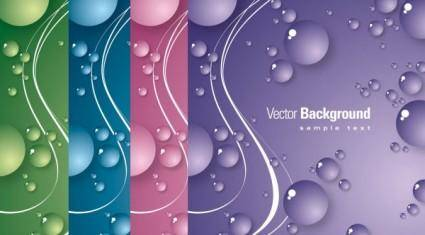 free vector Blisters background vector