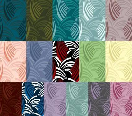Multistyle wave vector background