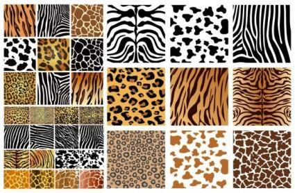 Animal skin texture vector background