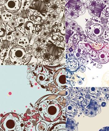 free vector Simple and elegant background pattern vector