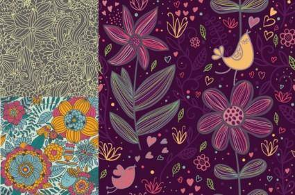 free vector Fine background pattern vector