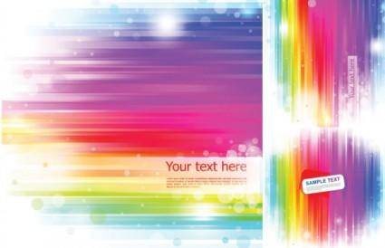 free vector Vector background rainbow