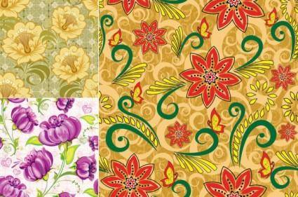 The background fabric pattern vector