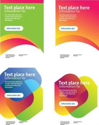 Information box background color vector