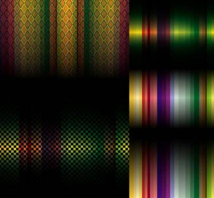 free vector 5 bars symphony background vector