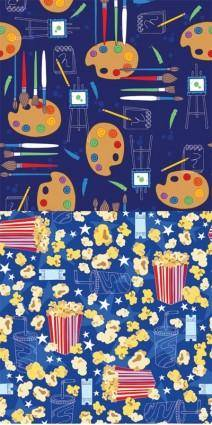 free vector Vector clip art and film background