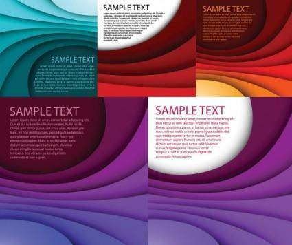free vector Stacked vector background