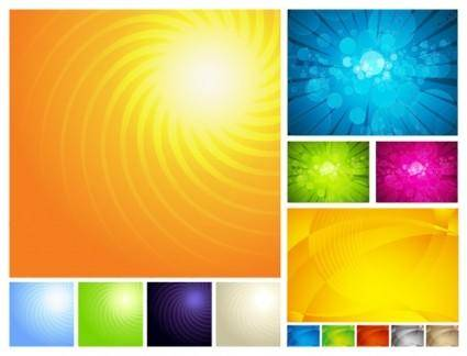 3 sets of symphony of the background vector