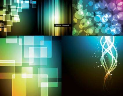 Brilliant light vector background 2