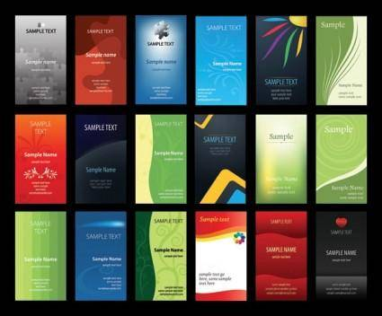 free vector Card business card background vector