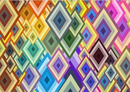 Colorful background vector diamond