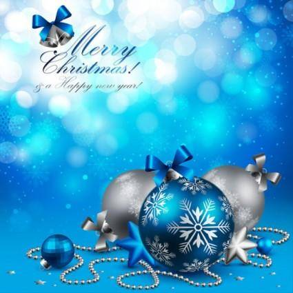 Beautiful christmas background 01 vector