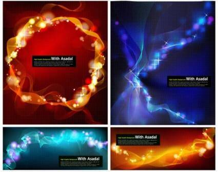 free vector Glare background vector