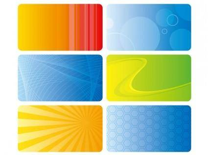 Practical card background vector