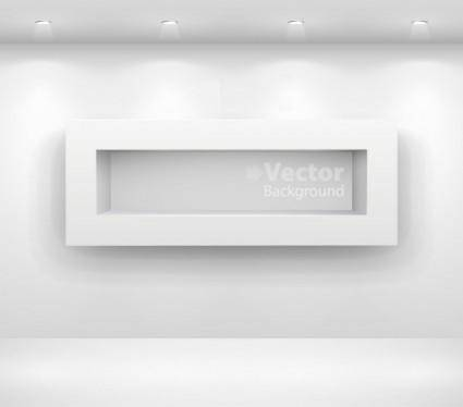 free vector Gallery display background 14 vector