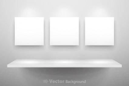 free vector Gallery display background 11 vector