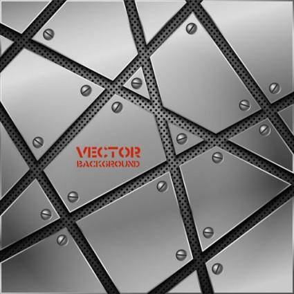 free vector Vector background of 02 metallic