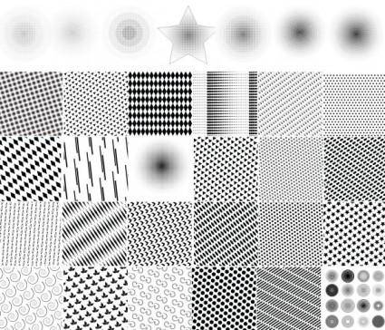 Dot pattern background vector diagram u0026amp