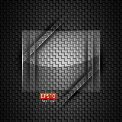 Glass round advertising background 05 vector