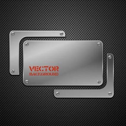 free vector Metal background 02 vector