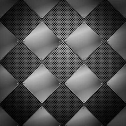 free vector Vector background of 04 metallic