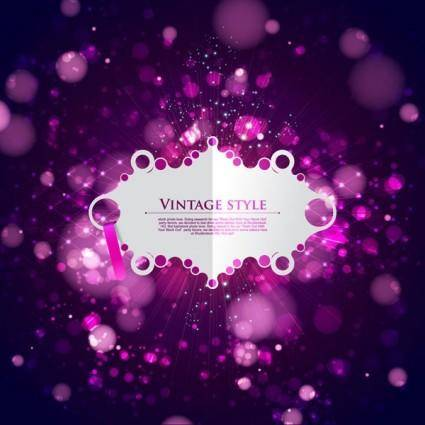 free vector Cool glare background vector 12