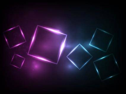 free vector Symphony square background vector 3