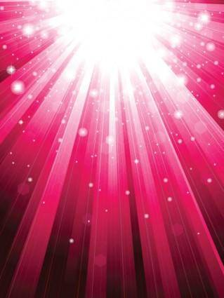 Star light vector background