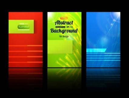 Classic card background 03 vector