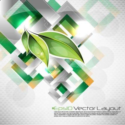 Dynamic halo background 04 vector