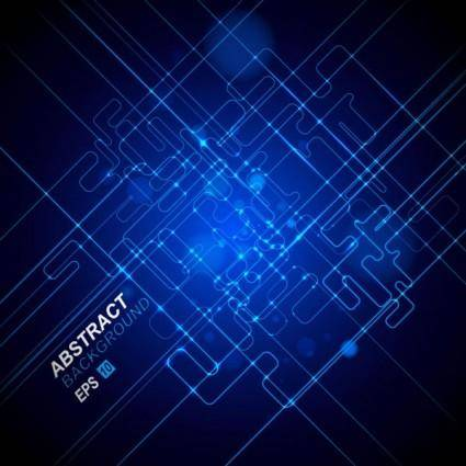 Dynamic technological background bright 04 vector
