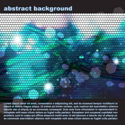 free vector Vector dot background technology being 1