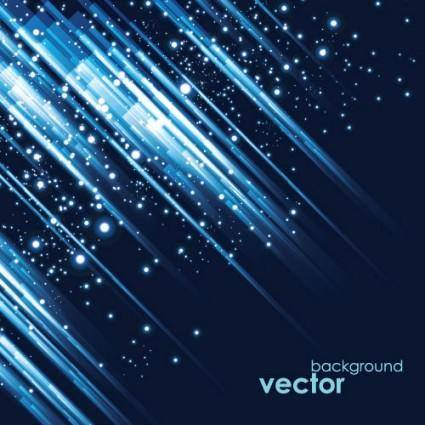 free vector Cool blue background vector 3 glare
