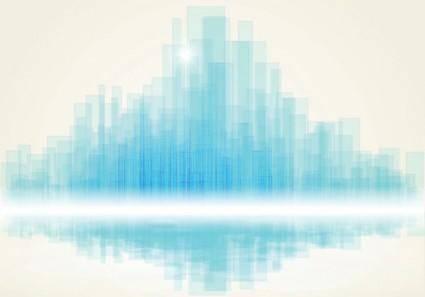 Dynamic brilliant color background 03 vector
