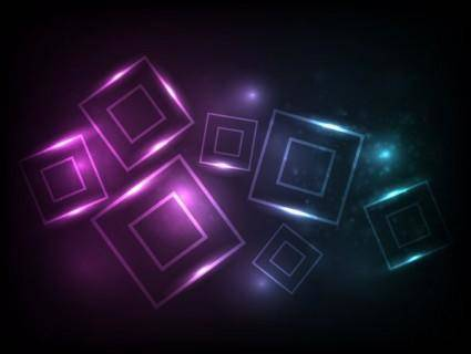 Symphony square background vector 2