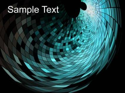 Dynamic trend of the mosaic background 02 vector