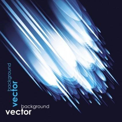 Blue star background 03 vector