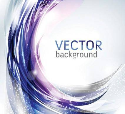 Brilliant light vector dynamic background 1