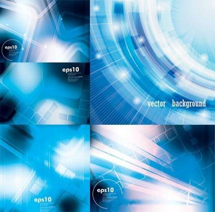 free vector Sense of a blue background vector technology