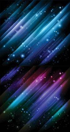 free vector 1 star universe background vector