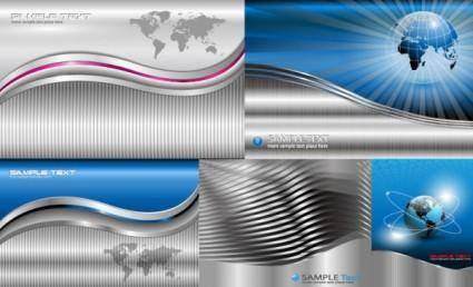 Technologies style vector background