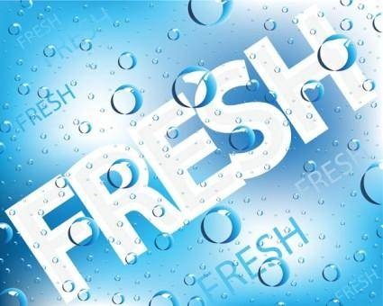 free vector Freshness of the background vector