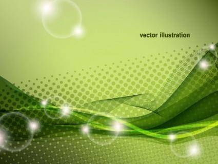 Dynamic halo background 05 vector