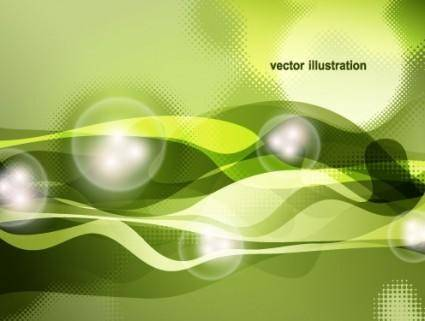 Dynamic halo background 03 vector