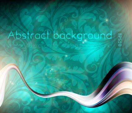 Dynamic luxury background 02 vector