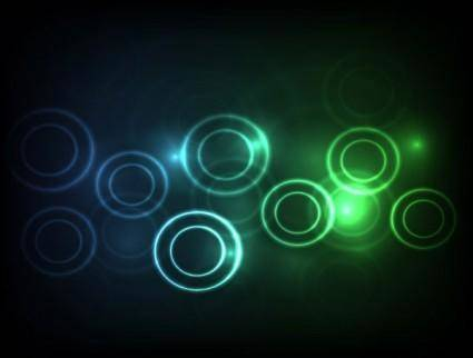 Symphony circular background vector 2