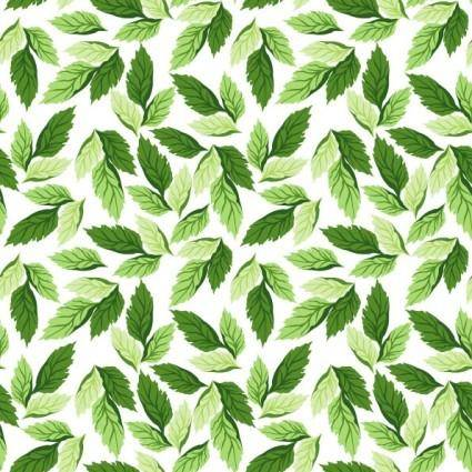 Leaves background vector 2