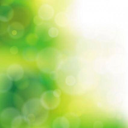 free vector Green natural blur the background 05 vector