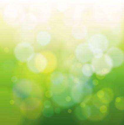 free vector Green natural blur the background 01 vector